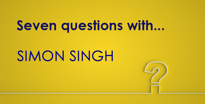 Seven Questions with Simon Singh