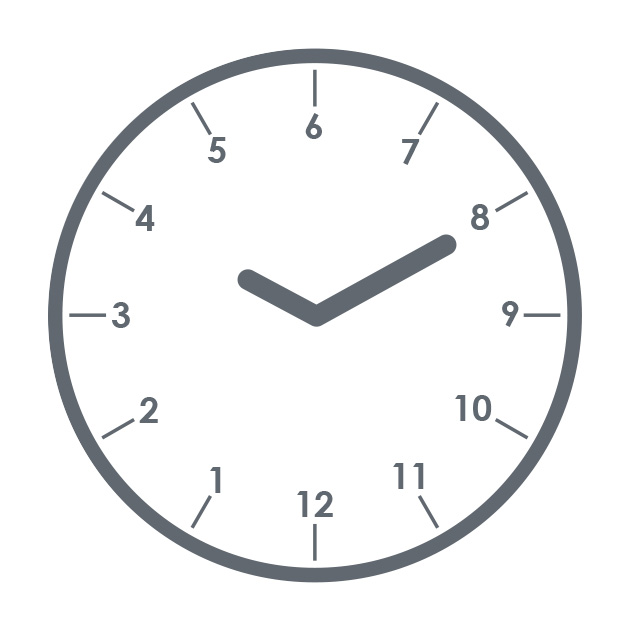 A clock showing how Swahili time would be visualised